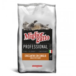 MIGLIORGATTO KG. 17 PROFESSIONAL CON CONIGLIO