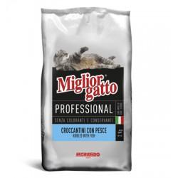 MIGLIORGATTO KG. 17 PROFESSIONAL CON PESCE
