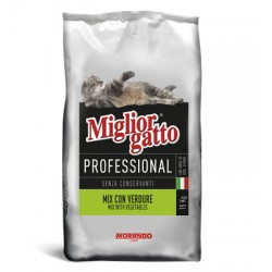 MIGLIORGATTO KG. 17 PROFESSIONAL MIX CON VERDURE