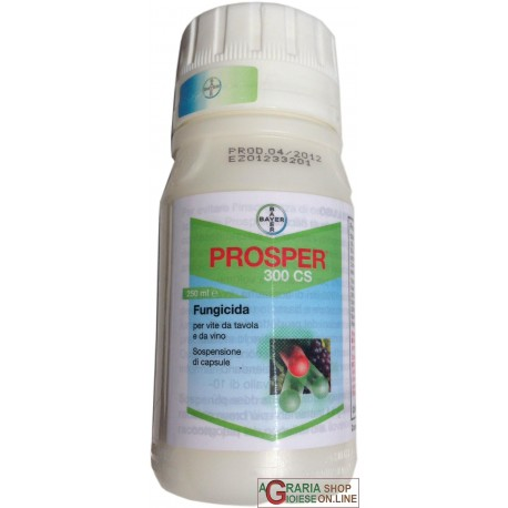 BAYER PROSPER 300 CS FUNGICID A BASE DI SPIROXAMINA 30,6 ML. 250