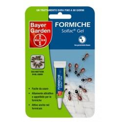 BAYER SOLFAC GEL INSETTICIDA PER FORMICHE GR. 4