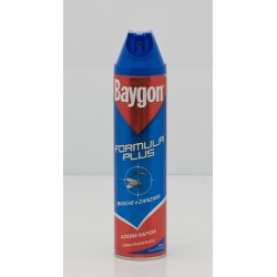 BAYGON SPRAY ML. 400 MOSCHE E ZANZARE