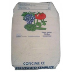 PERFOSFATO POLVERE CONCIME A BASE DI FOSFORO SIRIAC  KG. 50