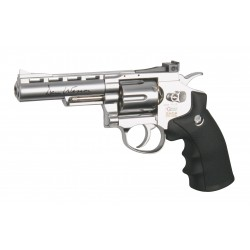 PISTOLA CO2 AIRSOFT DAN WESSON 4 POLLICI REVOLVER CALIBRO MM. 6