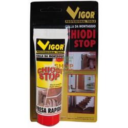 ADESIVO VIGOR CHIODI-STOP BIANCO TUBETTO GR. 100