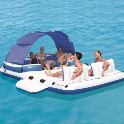BESTWAY 43105 Isola Galleggiante Tropical Breeze Gonfiabile 6