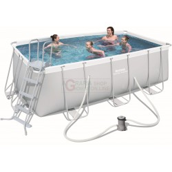 BESTWAY 56456 PISCINA CON TELAIO POWER STEEL FRAME