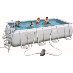 BESTWAY 56465 PISCINA CON TELAIO POWER STEEL FRAME CM.