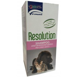 Resolution shampoo antiparassitario per cani e gatti Formevet ml. 200
