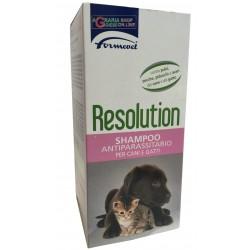 Resolution shampoo antiparassitario per cani e gatti Formevet ml. 200