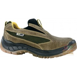 SCARPA CON ELASTICO SLEEP ON IN CROSTA CON PUNTALE E LAMINA
