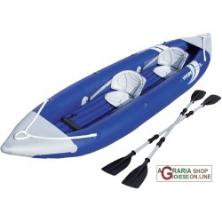 BESTWAY 65061 KAYAK HYDRO-FORCE BOLT X2 CON RIVESTIMENTO IN