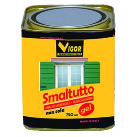 SMALTO ANTIRUGGINE SMALTUTTO GEL 9010 BIANCO OPACO ML. 750
