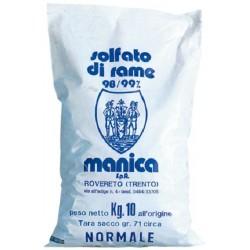 SOLFATO DI RAME IN PIETRA KG. 10