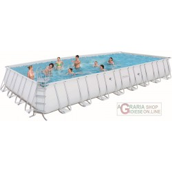 BESTWAY PISCINA CON TELAIO POWER STEEL FRAME CM.  956x488x132h. 56338