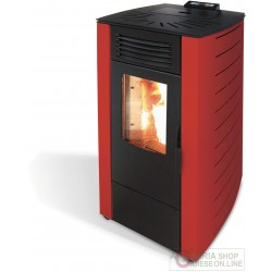 STUFA PELLET KW 9,0  KING10 BORDEAUX (98BKI)