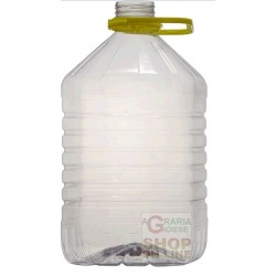 TANICA PET IN PLASTICA PER VINO OLIO LT. 5