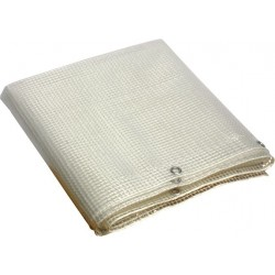 TELO OCCHIELLATO PVC CRISTAL MT. 3 X 3,5