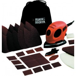 BLACK DECKER MULTILEVIGATRICE MOUSE MOD.KA161BC