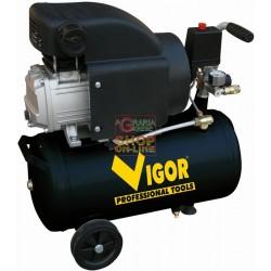 VIGOR COMPRESSORE 220V 1 CIL.DIRETTO HP.1,5 LT. 24 56350-12/8