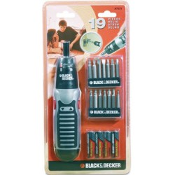 BLACK DECKER SVITAVVITA KIT 19PZ. A7073XJ
