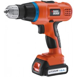 BLACK DECKER TRAPANO 14,4 LITIO MOD.EPL148K+A7064
