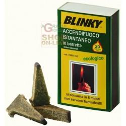 BLINKY ACCENDIFUOCO ECOLOGICO A FIAMMIFERO ISTANTANEO PZ. 20