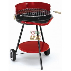 BLINKY BARBECUE A CARBONE RONDY-48 CON RUOTE DIAMETRO CM. 48