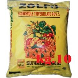 ZOLFO GIALLO SCORREVOLE TRIVENTILATO 95% KG. 10
