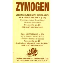 ZYMOGEN LIEVITO SELEZIONATO PER VINIFICAZIONE GR. 20