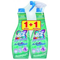 ACE GENTILE CANDEGGINA SPRAY CON SGRASSATORE 600 ML + RICARICA 600 ML