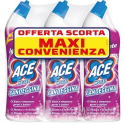 ACE WC GEL CON CANDEGGINA FRESCO PROFUMO 700 ML x 3 PZ