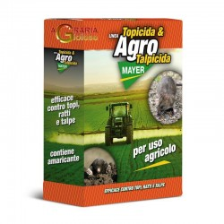 AGROMAYER PASTA TALPICIDA AND RAT POISON FRESH BAIT FOR AGRICULTURAL USE GR. 750