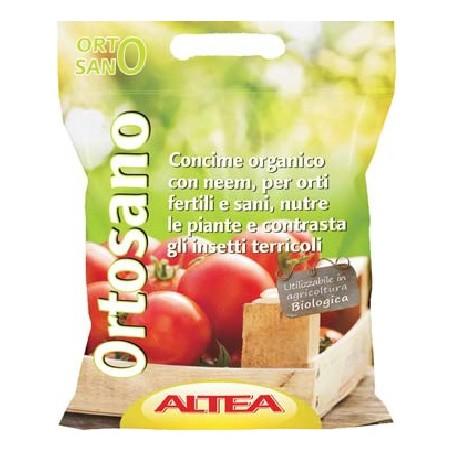 ALTEA ORTOSANO CONCIME ORGANICO VEGETALE GRANULARE KG. 22,5