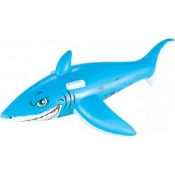 Bestway 41032 Squalo Blu Gonfiabile cavalcabile galleggiante per nuoto da bambini