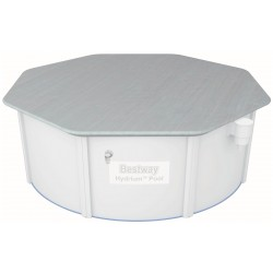 Bestway 58291 Telo di copertura per piscina pareti in acciaio 305x122 cm