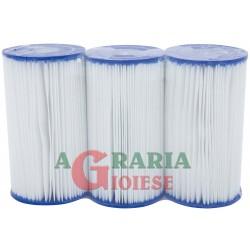 Bestway 58418 Set 3 Cartucce ricambio filtro piscina fuori terra Filter Cartridge IV