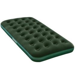 Bestway 67447 Materasso gonfiabile singolo flocculato verde outdoor campeggio cm. 188x99x22h