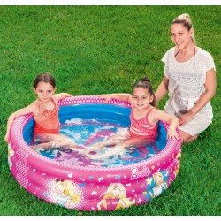 Bestway 93205 Piscina di Barbie gonfiabile per bambini cm. 122x30h.