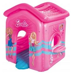 Bestway 93208 Casa di Barbie gonfiabile con fondo imbottito e davanzale cm. 150x135x142h.