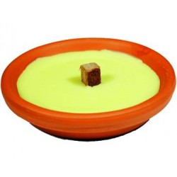 BLINKY CERO CITRONELLA VASO IN TERRACOTTA CM. 17x4h.