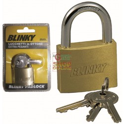BLINKY LUCCHETTO OTTONE EXTRA-PESANTE MM. 50