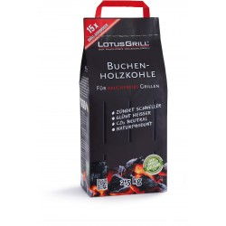 CARBONELLA PER LOTUSGRILL IN PURO FAGGIO SENZA COLLANTI ORIGINALE DA KG. 2,5