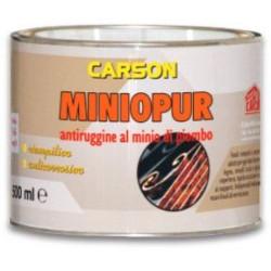 CARSON ANTIRUGGINE ARANCIO AL MINIO DI PIOMBO ML. 500