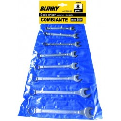 BLINKY SERIE CHIAVI COMBINATE PZ. 12 CROMOVANADIO MM. 6/22