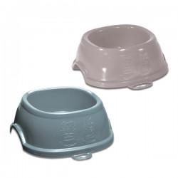 Ciotola in plastica Break 2 per cani e gatti cm. 19x19x7h. Ml. 600