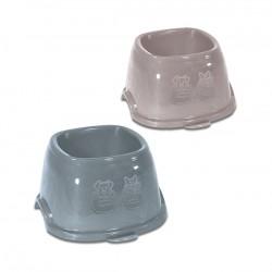 Ciotola in plastica Break 9 per cani e gatti cm. 19x19x11h. Ml. 700