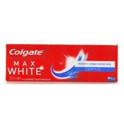 COLGATE MAX WHITE OPTIC DA VIAGGIO ML. 25