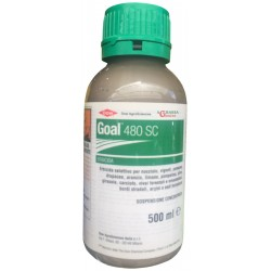 DISERBANTE ERBICIDA SELETTIVO DOWAGRO GOAL 480 SC ML. 500 Oxifluorfen