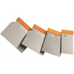 Einhell Set 4 spatole con lama in acciaio mm. 50 80 100 120